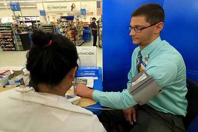 Walmart Health Fair, July 21, 2018