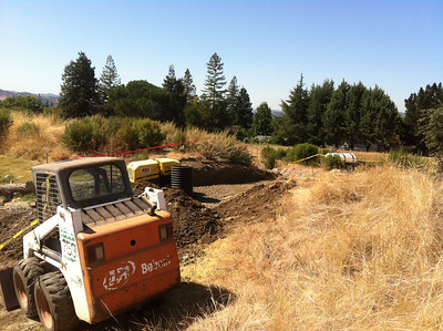Bayberry Drainage Project September 23, 2011