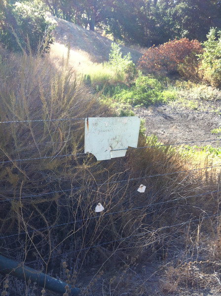 Restoration sign at Upper Twin Pond needs restoration.  Do we have any extras?