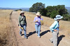 Our three intrepid seed-seekers: Katrina, Sue, Lesley, and your photographer of course.