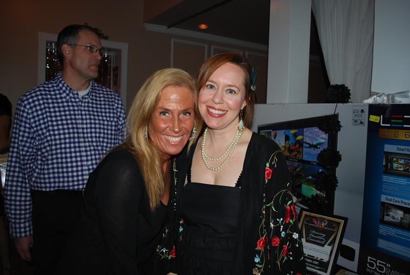 Sarah Covin and Elizabeth Barr