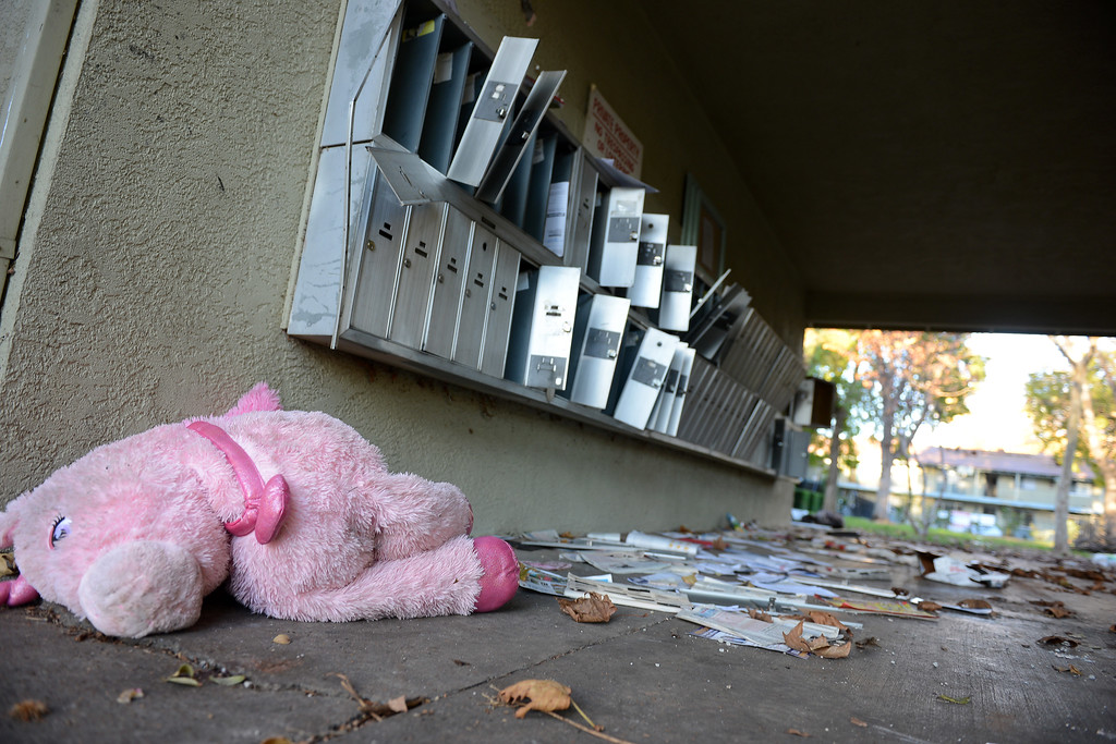 Empty Apartments And Left Behind Belongings Are Strewn About Wednesday,  Nov. 30