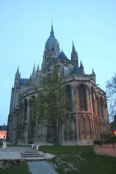 Bayeux Cathedral spires