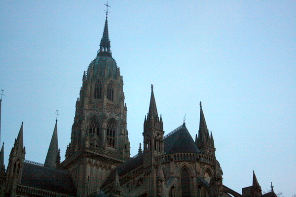 Bayeux Cathedral - central tower