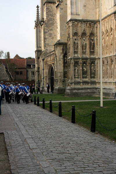 Canterbury - St. George's Day parade