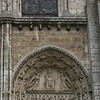 Chartres Cathedral - West door tympanum