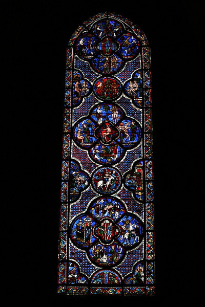 Chartres Cathedral - lancet window