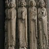 Chartres Cathedral - west door figures
