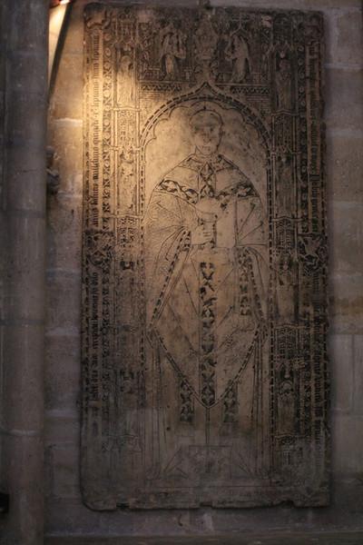 Memorial panel - St. Denys