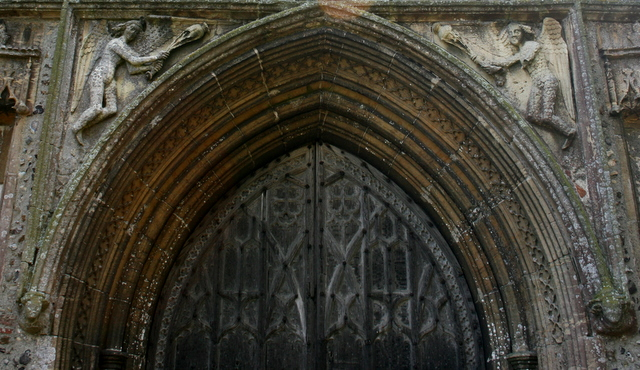 West front tympanum