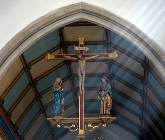 St. Mary's Parish, Walsingham rood screen