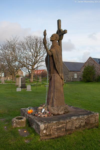 Statue of Fr. Aiden