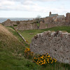Lindesfarne Abbey walls