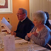 Fr. Andrew and Linda Wilkinson at the Norfolk Riddle