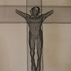 The crucifix in the Barn Chapel
