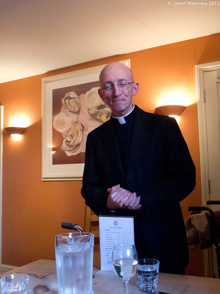 Bp. Martin at the Norfolk Riddle