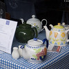 Teapots at the Walsingham Tea Room