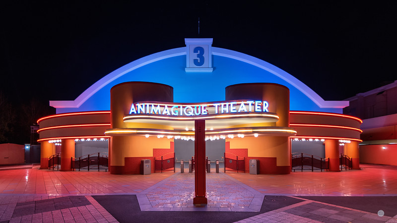 Animagique Theater by Night