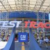 Test Track sign