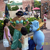 Evelyn and Heather meet Jasmine and the Genie