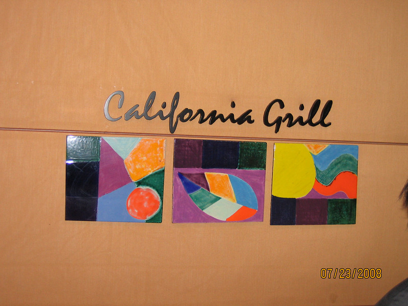California Grill check-in