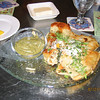 Maine Lobster and Cinco Queso Quesadillas appetizer