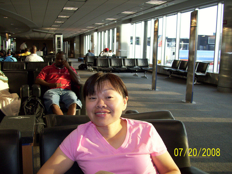 JoMay at the BWI airport