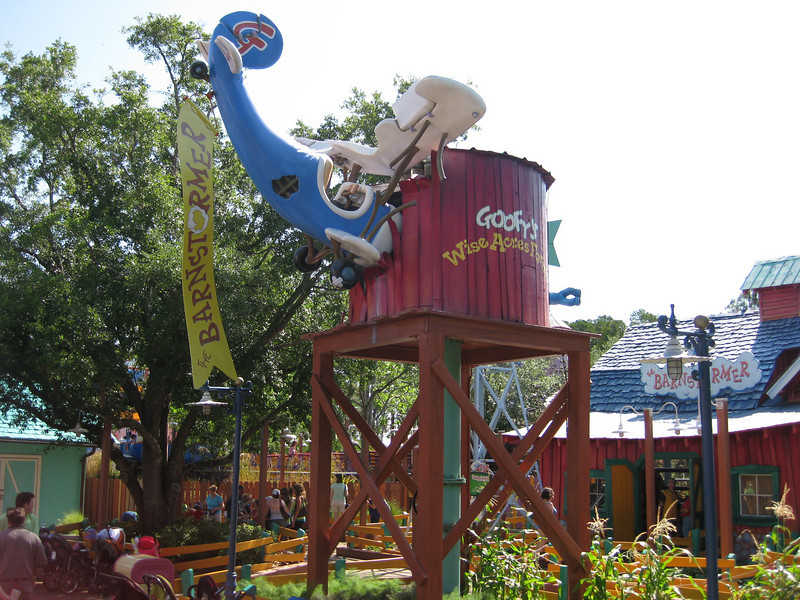 Barnstormer Roller Coaster