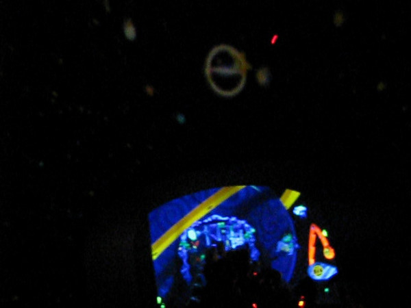This was the Buzz Lightyear ride in Tomorrow land