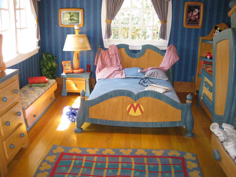 Mickey's house.