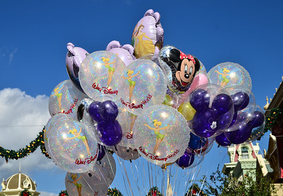Balloons for sale on Main Street