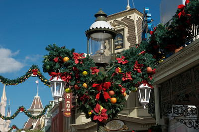 Decorations on main street