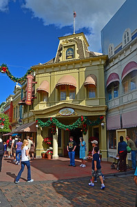 Shop on main street in Magic Kingdom