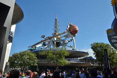 Astro ride in Tomorrowland