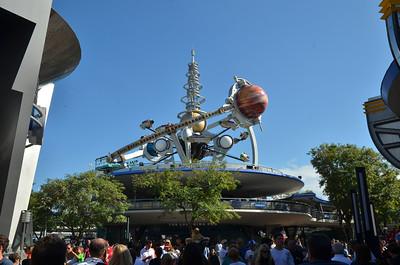 Astro ride in Tomorrowland