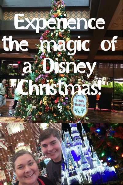 Experience the Magic of a Disney Christmas!