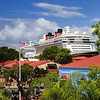 The Disney fantasy looms over the shops at  Havenisght at the pier.