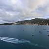 The harbor at Charlotte Amalie, St. Thomas.