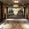 Deck 5 midship elevator lobby.