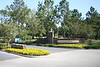 The entrance to Disney's Saratoga Spring's Resort and Spa, our Disney Vacation Club home resort.