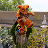 Rafiki and Simba Topiary at Epcot Flower and Garden Festival 2013.