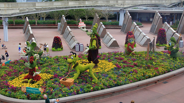 Epcot 2013 Flower and Garden