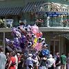 Baloon sales on Main Street