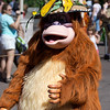 King Louie. Mickey's Jammin' Jungle Parade at Disney's Animal Kingdom.