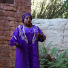 """Mama Dacia introduces the Grand Gathering at Disney's Animal Kingdom for the MouseOwner's Spring Fling.  Mama is Swahili for """"woman in charge"""" and Dacia is """"Purple Flower."""""""