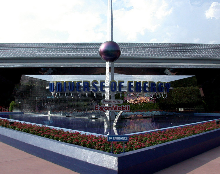 Universe of Energy pavilion in Epcot.