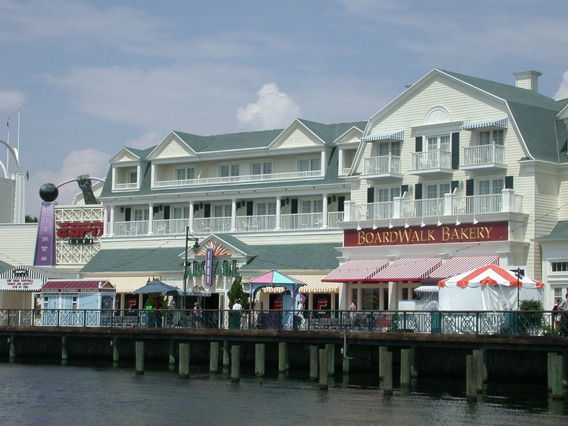 It wasn't long before we learned the joys of the Boardwalk Bakery, especially Mickey rice crispy treats!