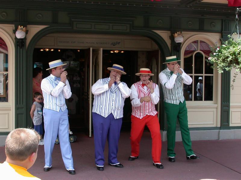 The Dapper Dans on Main Street.