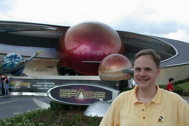 Mission Space was only open for previews, but they opened almost as soon as we got there!