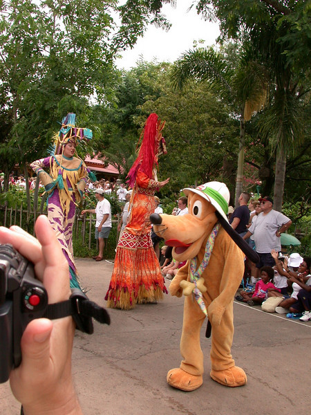 Mickey's Jammin' Jungle Parade at Disney's Animal Kingdom Park.